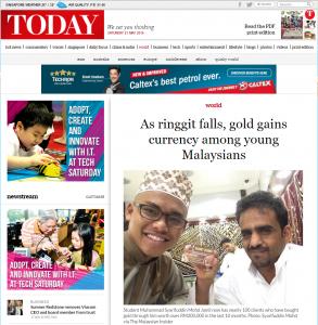 Kisah SJ di Online Paper SIngapore