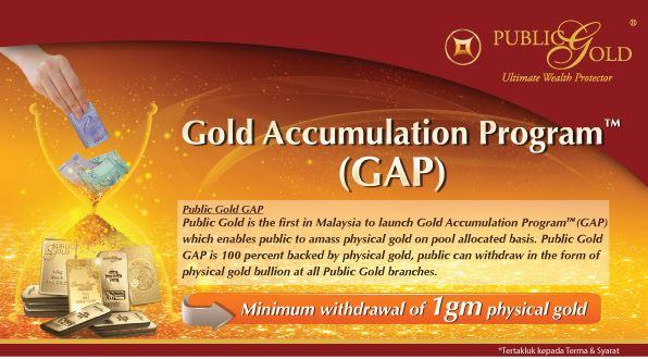 Apa itu Akaun Emas G.A.P (Gold Accumulation Program)?